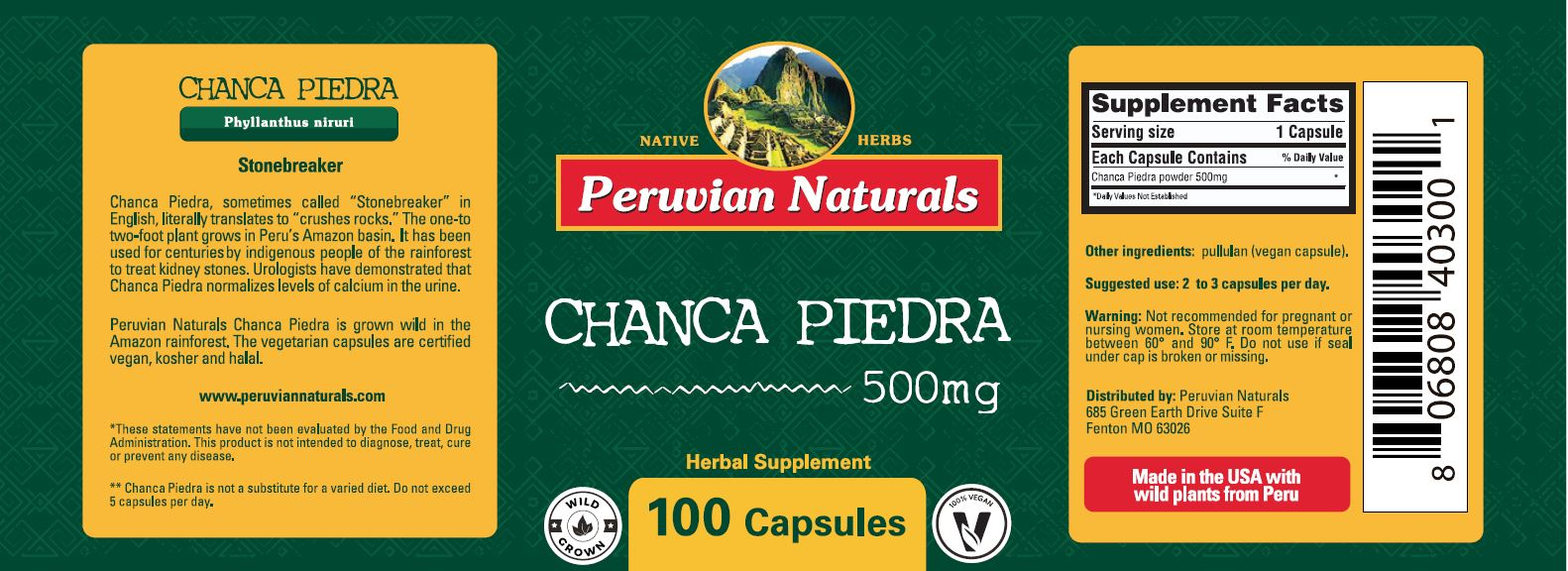 how to grow chanca piedra
